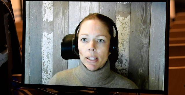 Veronica Arthurson.  Janerik Henriksson/TT / TT NYHETSBYRÅN