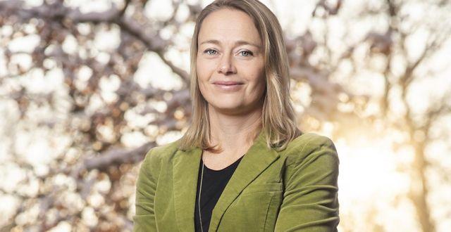 Lina Håkansdotter, chef för avdelningen Hållbarhet och Infrastruktur på Svenskt Näringsliv.