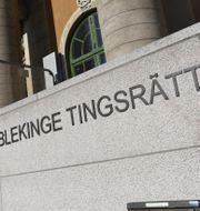 Blekinge tingsrätt i Karlskrona Johan Nilsson/ TT / TT NYHETSBYRÅN