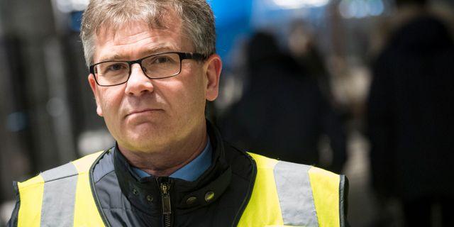 Michael Mattsson, chef för gränspolisen i region Syd. Johan Nilsson/TT / TT NYHETSBYRÅN