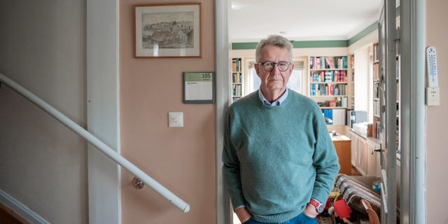 Den tidigare statsepidemiologen Johan Giesecke som nu har konsultuppdrag för Folkhälsomyndigheten.  JOHANNA LUNDBERG / BILDBYRÅN