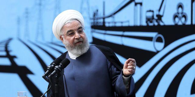 Irans president hassan Rouhani. TT.