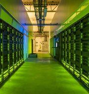 Datorhall på Nationellt Superdatorcentrum, Linköping universitet. Thor Balkhed