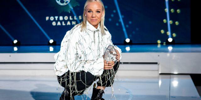 Caroline Seger. Christine Olsson/TT / TT NYHETSBYRÅN
