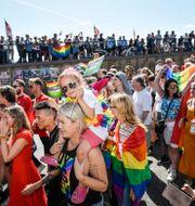 Arkivbild. Pridetåget i Stockholm 2019. Stina Stjernkvist/TT / TT NYHETSBYRÅN