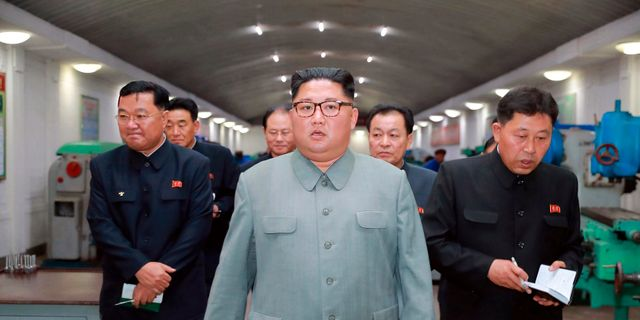Nordkoreas ledare Kim Jong Un. Arkivbild. TT NYHETSBYRÅN
