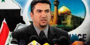 Arkivbild på Adnan al-Zurfi från 2005. Hadi Mizban / TT NYHETSBYRÅN