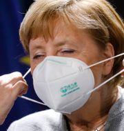 Tysklands förbundskansler Angela Merkel. Markus Schreiber / TT NYHETSBYRÅN