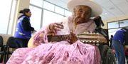 Flores på sin 118-årsfest. STR / AFP