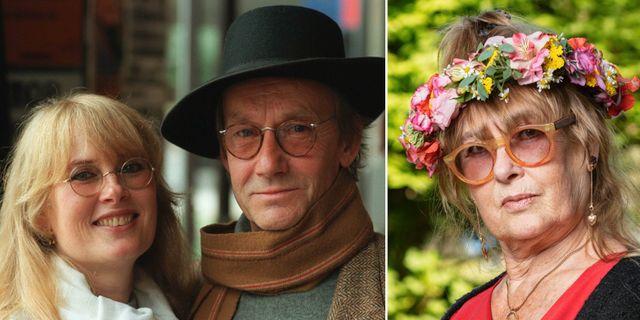 Marie-Louise Ekman och Gösta Ekman. TT/Mattias Ahlm, Sveriges Radio