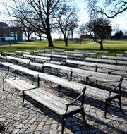 Arkivbild: Almedalen i Visby ANDERS WIKLUND / TT / TT NYHETSBYRÅN