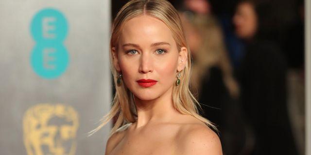 Jennifer Lawrence.  DANIEL LEAL-OLIVAS / AFP