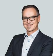 Torbjörn Isaksson, Nordea, och Michael Grahn, Danske Bank.  Pressbilder.