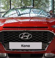 Arkivbild: Hyundais Kona EV lanserades 2017.  Lee Jin-man / TT NYHETSBYRÅN