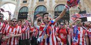 Atletico-fans Luca Bruno / TT / NTB Scanpix