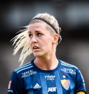 Djurgårdens Olivia Schough. Erik Simander/TT / TT NYHETSBYRÅN