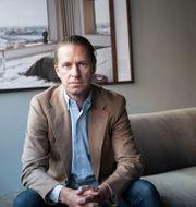 Oscar Engelbert, grundare och vd på Oscar Properties. Malin Hoelstad/SvD/TT / TT NYHETSBYRÅN
