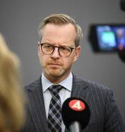 Inrikesminister Mikael Damberg (S).  Amir Nabizadeh/TT / TT NYHETSBYRÅN