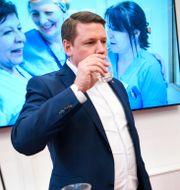 Kommunals förbundsordförande Tobias Baudin Fredrik Sandberg/TT / TT NYHETSBYRÅN