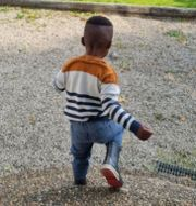 """Treårige """"Tim"""" riskerar att utvisas till Nigeria efter Migrationsverkets beslut.  TT/Privat"""