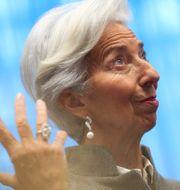 Christine Lagarde. Francisco Seco / TT NYHETSBYRÅN