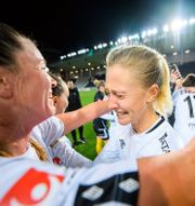 Göteborg FC firar SM-guldet. MAXIM THORE / BILDBYRÅN