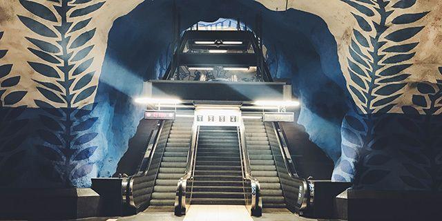 T-centralen i Stockholm. Colourbox