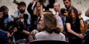 Gina Haspel på en presskonferens den 9 maj. BRENDAN SMIALOWSKI / AFP