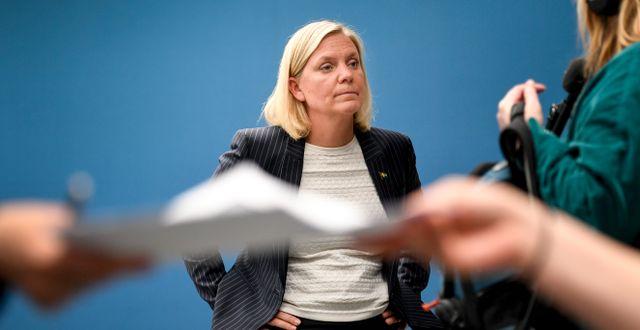 Magdalena Andersson, finansminister. Ali Lorstani/TT / TT NYHETSBYRÅN