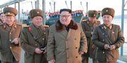 Arkivbild. Kim Jong-Un. KCNA KCNA / TT NYHETSBYRÅN