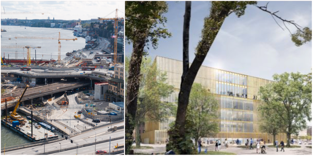 Slussen/Det tänka Nobelcentret. TT/David Chipperfield Architects
