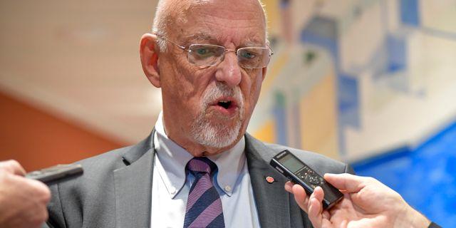Arkivbild: EU-minister Hans Dahlgren (S) Janerik Henriksson/TT / TT NYHETSBYRÅN