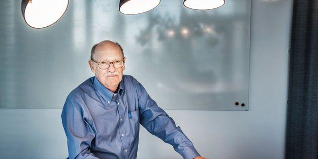 Lars Jonung, professor i nationalekonomi vid Ekonomihögskolan på Lunds universitet. Tomas Oneborg/SvD/TT / TT NYHETSBYRÅN