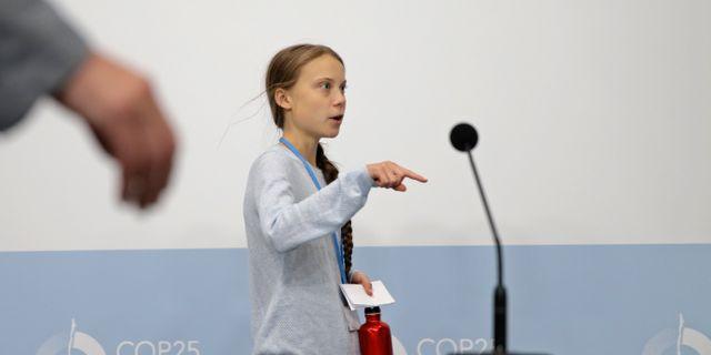 Greta Thunberg Andrea Comas / TT NYHETSBYRÅN