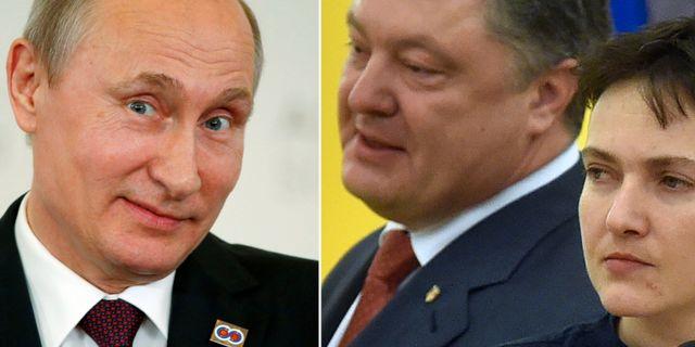 Ryssland starker banden till krim