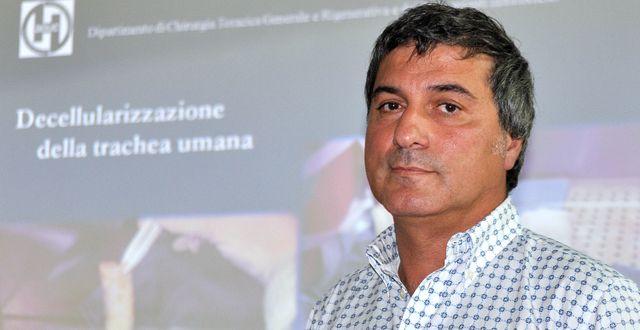 Paolo Macchiarini.  Lorenzo Galassi / TT NYHETSBYRÅN