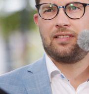 Jimmie Åkesson Adam Ihse /TT / TT NYHETSBYRÅN