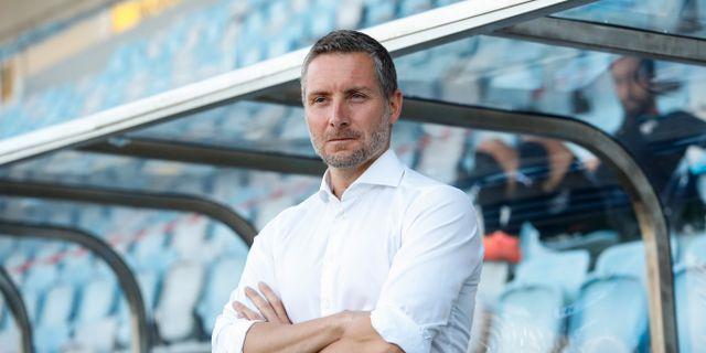 Örebros tränare Axel Kjäll. Stefan Jerrevång/TT / TT NYHETSBYRÅN
