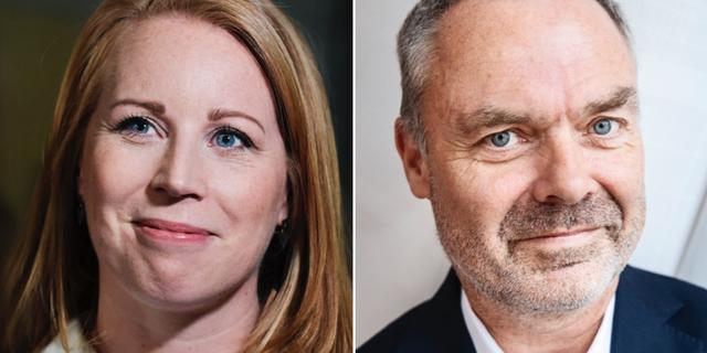 Annie Lööf och Jan Björklund. TT