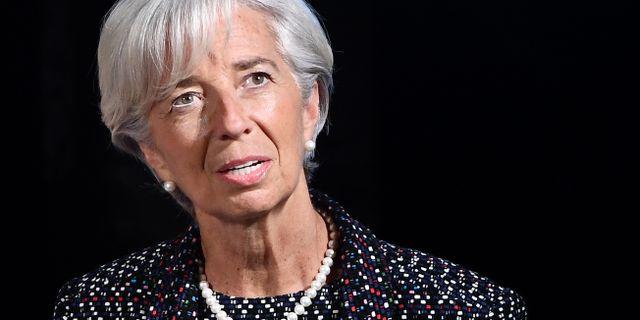 Lagarde. EMMANUEL DUNAND / AFP