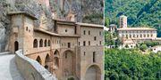 Monastero di Santa Scolastica är ett fantastiskt kloster utanför Rom som välkomnar besökare. Wikicommons