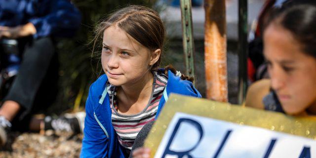 Greta Thunberg.  Adam Fondren / TT NYHETSBYRÅN