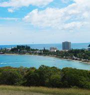 Nouméa, huvudstad i Nya Kaledonien. Johanna Engman / TT NYHETSBYRÅN