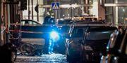 Arkivbild: En kraftig explosion inträffade i en port på Östermalm i Stockholm i mitten av januari.  Anders Wiklund/TT / TT NYHETSBYRÅN