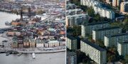 Olika bostadsområden i Stockholm. TT