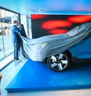 Volvo Cars nya elbil Volvo C40 Recharge. Claudio Bresciani/TT / TT NYHETSBYRÅN
