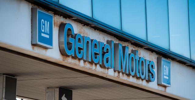 GM:s fabrik i Oshawa.  Aaron Vincent Elkaim / TT NYHETSBYRÅN