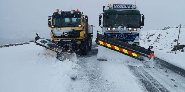 Arkivbild: Även förra sommaren var det kallt vid Sognefjellshytta Torstein Nordal / TT NYHETSBYRÅN