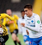 IFK Norrköpings Carl Björk. MICHAEL ERICHSEN / BILDBYRÅN