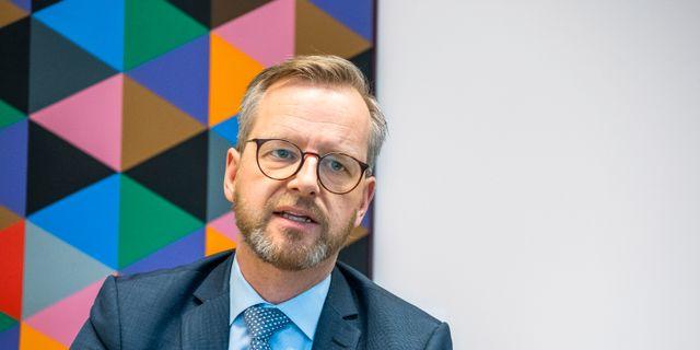 Inrikesminister Mikael Damberg (S).  Claudio Bresciani/TT / TT NYHETSBYRÅN
